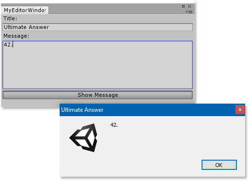 Custom editor controls in Unity - Part 1: Events | Lea Hayes